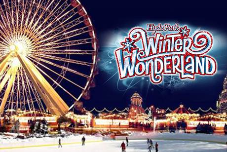 Winter Wonderland Hyde Park, London
