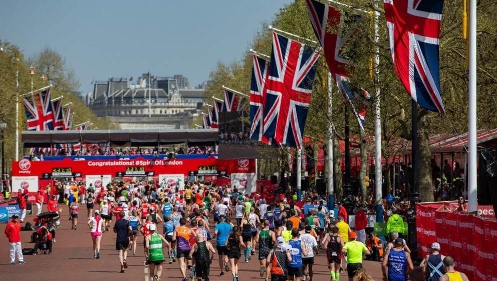 London marathon weekend