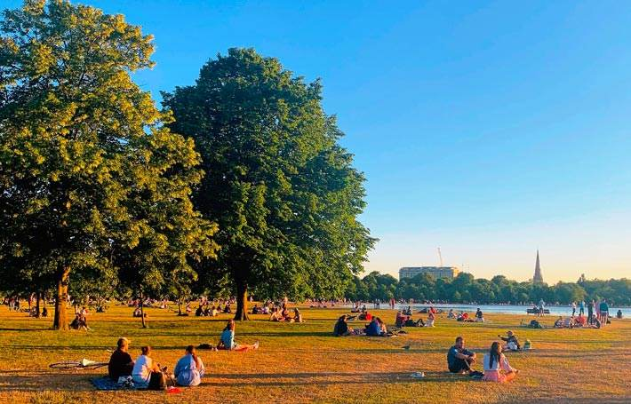 Hyde Park and Kensington Gardens London
