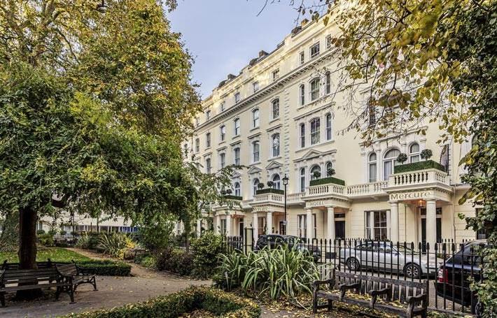 Mercure London Hyde Park Hotel Exterior